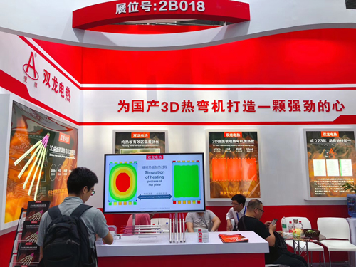 双龙公司参加深圳3D曲面玻璃展会1